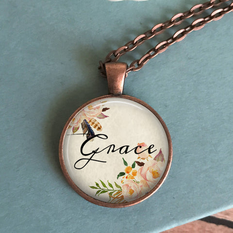 Grace Floral Necklace