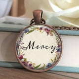 Mercy Floral Necklace