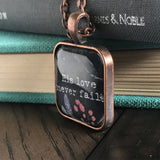 His Love Never Fails Necklace