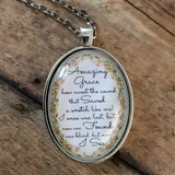 Amazing Grace Floral Necklace