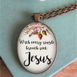 Seek Jesus Necklace