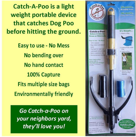 "The ""Catchapoo"" Catches Dog Poo Before It Hits the Ground"