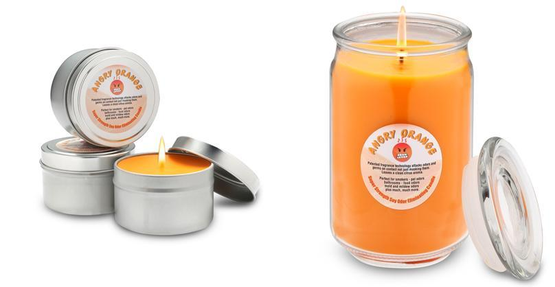 Odor Eliminating Soy Candles