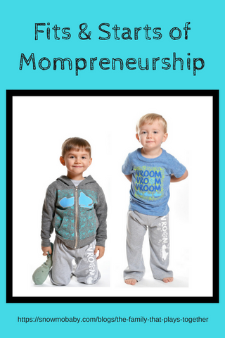 Fits and starts of mompreneurship