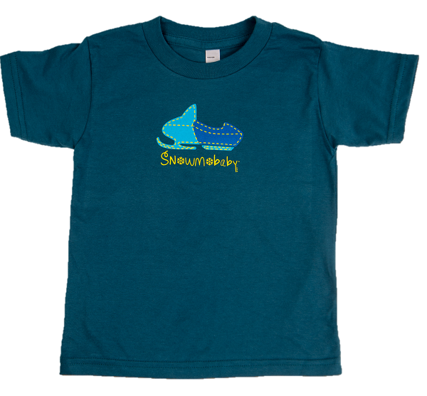toddler, t-shirt, organic, made in usa, snowmobile apparel, kids snowmobile apparel, kids snowmobile clothes, kids snowmobile t-shirt, kids snowmobile casual wear, children's snowmobile clothes, children's snowmobile t-shirt, snowmobile gifts, kids snowmobile gifts, great ideas for snowmobile kids, gift ideas for snowmobilers, gift ideas for sledders
