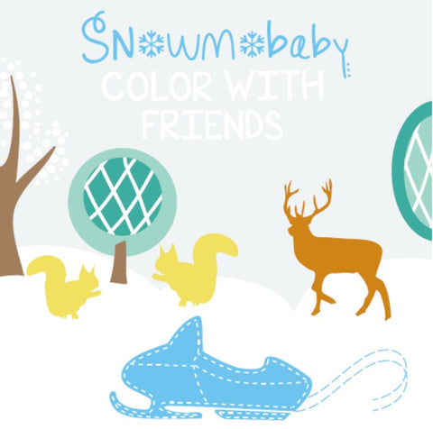 Snowmobaby Coloring Book