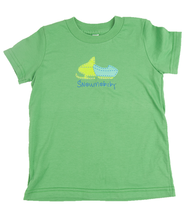 Classic Snowmobaby Toddler Tee - Grass Green