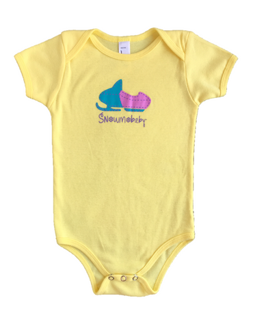Classic Snowmobaby Infant Onesie - Lemon Yellow