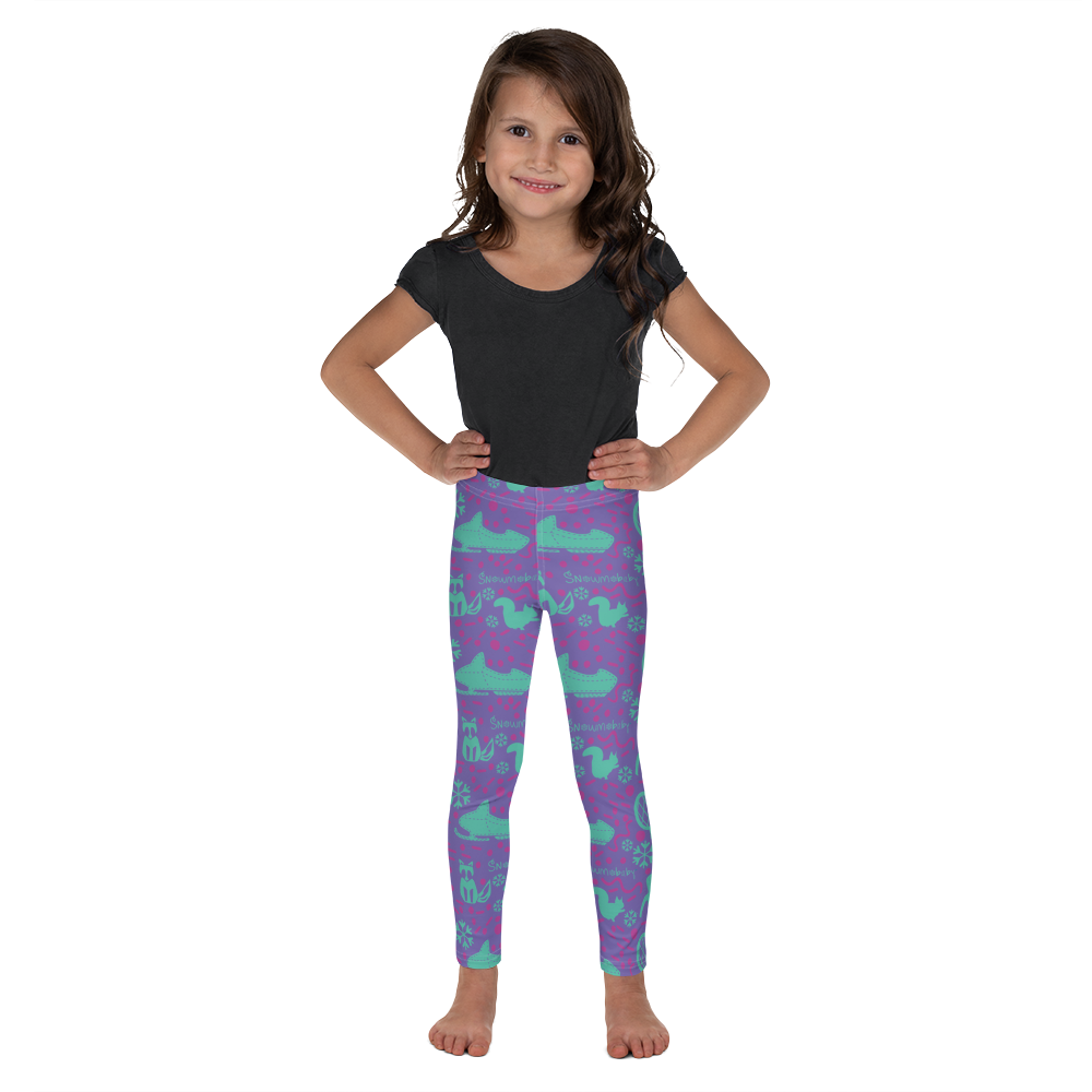 Leggings - Snowmobaby print