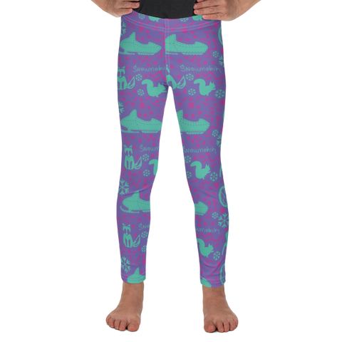 Toddler Leggings - Snowmobaby print