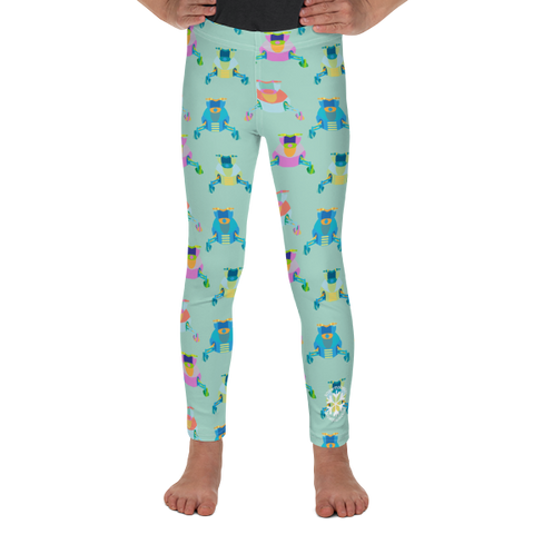 Toddler Leggings - Snowmobile print