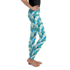 Kid's Leggings - Blue Rad Sled print