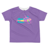 Toddler VROOM Sled Tee - Ultraviolet purple