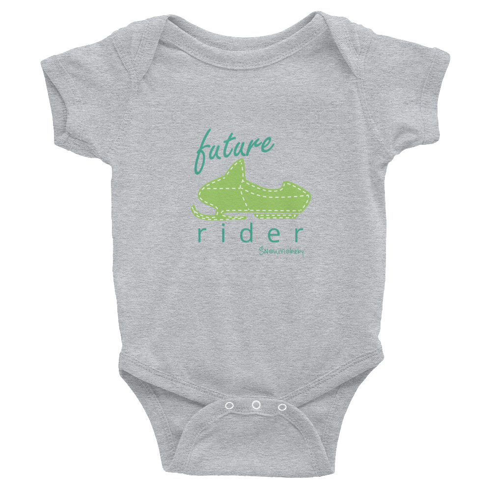 Future Rider Onesie - Green
