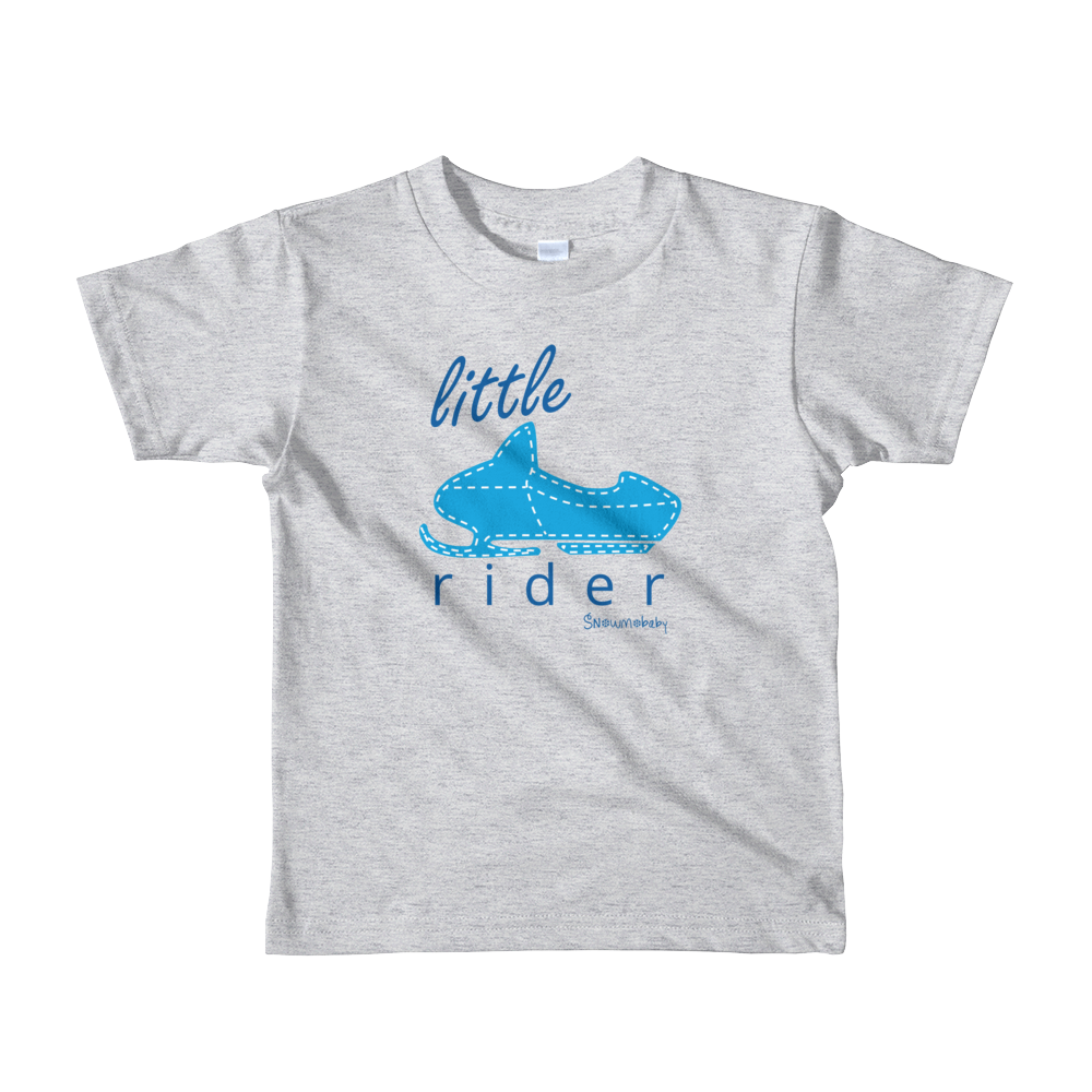 Little Rider Toddler Tee - Blue