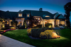 landscape lighting benefits for a house