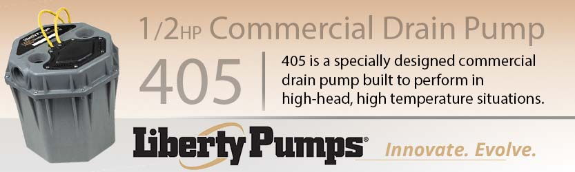Liberty 405 1/2HP Commercial Drain Pump