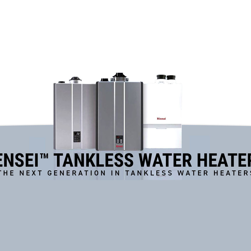 Rinnai Sensei Tankless Water Heater by Big Frog Supply