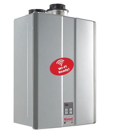 Rinnai, tankless water heater, wireless controller, traditional water tanks, on-demand water heaters