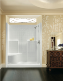 "Aquatic Bath - 48"" Tile Shower LH Seat"