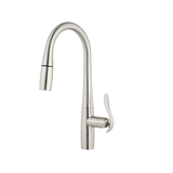 Danze D454411SS Selene Single Handle Pull-Down Kitchen Faucet with SnapBack Retraction, Stainless Steel