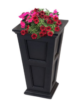 "Mayne - Fairfield 40"" Tall Planter - Espresso"