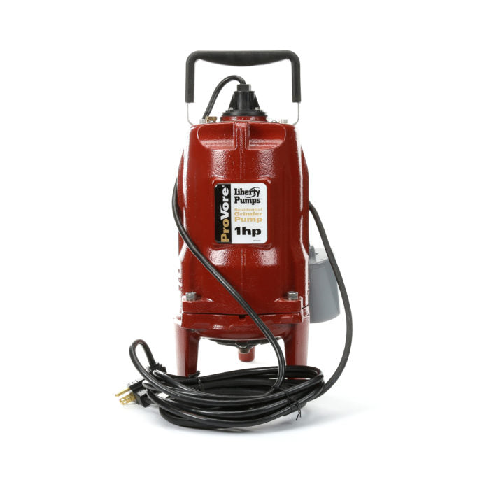 Liberty Pumps - PRG101A - ProVore Residential Grinder Pump, 1HP Automatic Wide Angle Switch