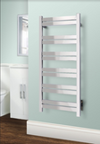 WarmlyYours - Grande 12 Towel Warmer, Polished, Hardwired, 12 bars
