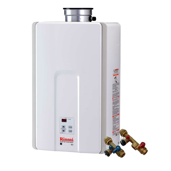 Rinnai V75in Natural Gas Tankless Water Heater 7 5