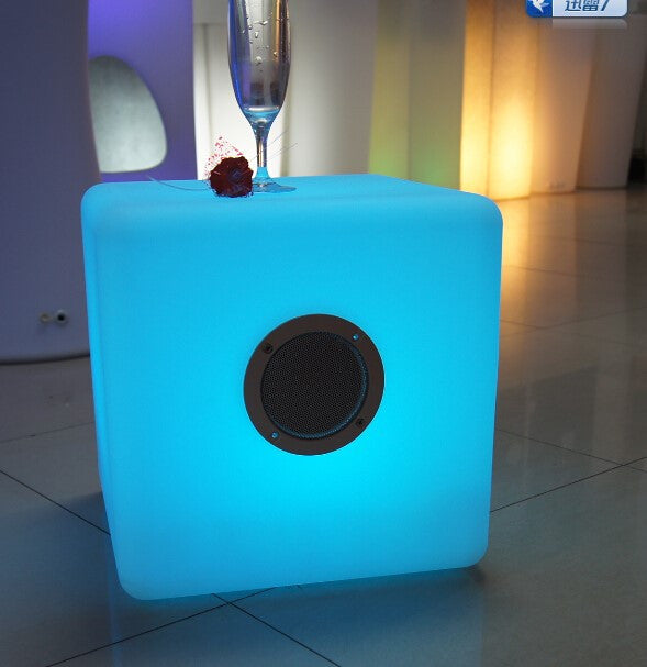 "Bellini - 16"" LED Cube with BT Speaker"