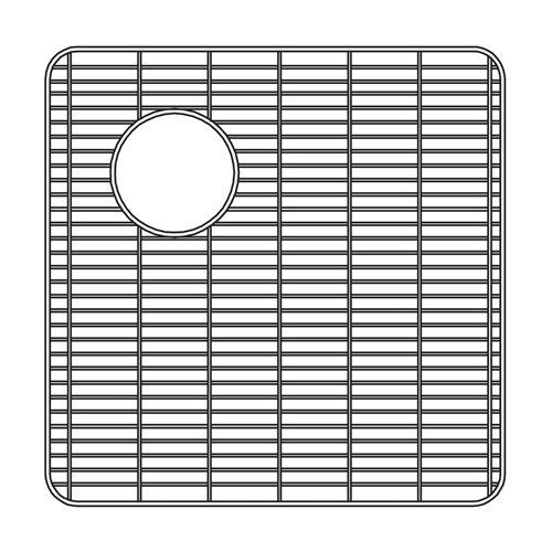 Houzer - Houzer 629712 16-3/4-Inch by 16-3/4-Inch by 5/8-inch Wirecraft Bottom Grid - Default Title - Accessory - Bottom Grid  - Big Frog Supply