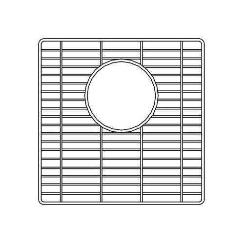 Houzer - Houzer 629717 11-4/7-Inch by 11-4/7-Inch by 5/8-Inch Wirecraft Bottom Grid - Default Title - Accessory - Bottom Grid  - Big Frog Supply