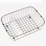 Houzer - Houzer RB-2500 Wirecraft 6-Inch high Rinsing Basket - Default Title - Accessory - Rack/Basket  - Big Frog Supply