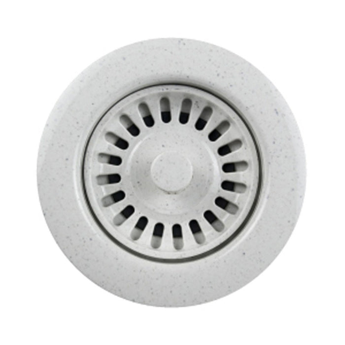 Houzer - Houzer 190-9566 3.5-Inch Speckled Granite White Disposal Flange - Default Title - Accessory - Strainer/Stopper  - Big Frog Supply