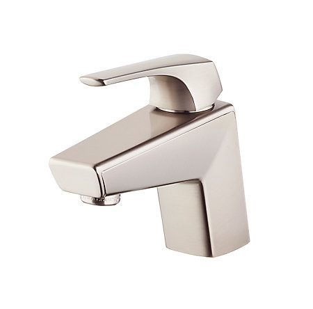Pfister - Arkitek Single Control Lavatory Faucet - Brushed Nickel - Bath  - Big Frog Supply - 2