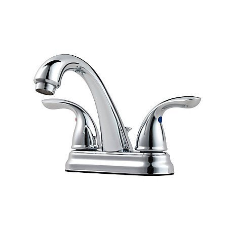 Pfister - Pfirst Series Centerset Bath Faucet - Polished Chrome - Bath  - Big Frog Supply - 1