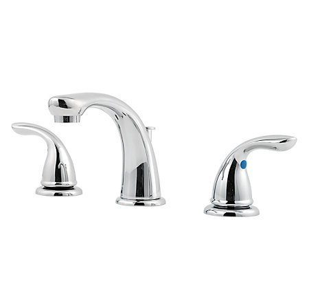 Pfister - Pfirst Series Widespread Bath Faucet - Polished Chrome - Bath  - Big Frog Supply - 1