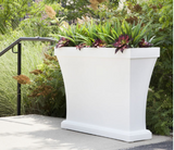 Mayne - Bordeaux Trough Planter - Black