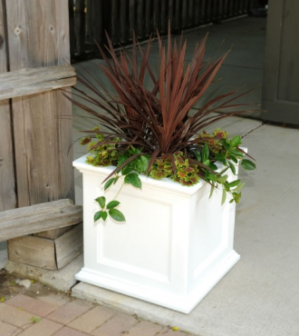 "Mayne - Fairfield Patio Planter 20"" x 20"" - White"