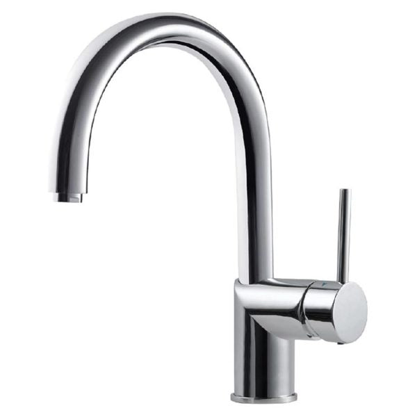 Hamat Gaba-4000 Rg Bar Faucet With High Rotating Spout In Rose Gold