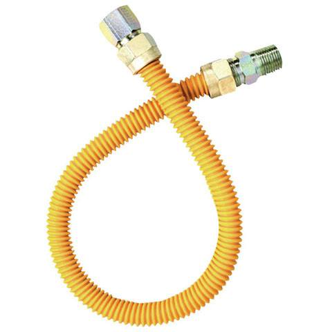 "Crown - Flex Gas Connector Hi BTU 1"" x 36"" F.I.P. x M.I.P (Male x Female) -  - Gas Connectors  - Big Frog Supply"