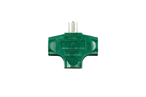 Seasonal Source - Heavy Duty Three Outlet Splitter -  - Electrical  - Big Frog Supply
