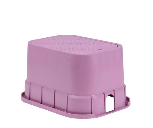 Rain Bird - PVBSTDP - 12 in. PVB Standard Valve Box - Purple Body & Drop-in Purple Lid -  - Irrigation  - Big Frog Supply