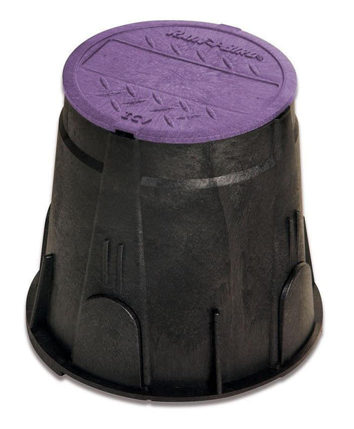 Rain Bird - VB7RNDP - 7 in. Round Valve Box - Purple Lid -  - Irrigation  - Big Frog Supply
