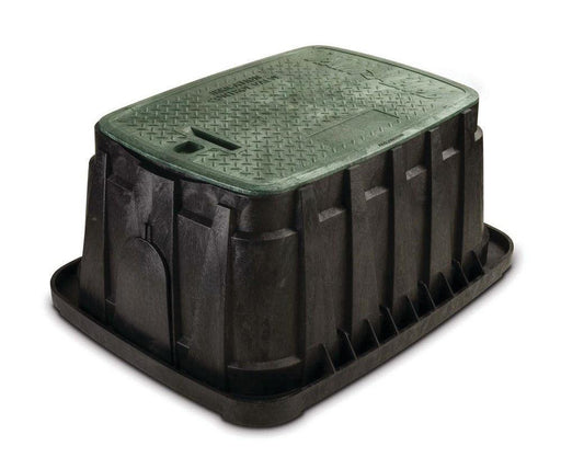 Rain Bird - VBJMBH - Jumbo Valve Box - Green Lid & Lock -  - Irrigation  - Big Frog Supply