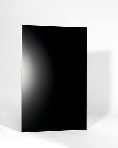 WarmlyYours - Ember Heating Panel Frameless 600W - Glass Black - Kitchen  - Big Frog Supply - 1