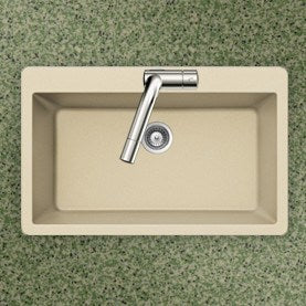 Houzer - Houzer V-100 Quartztone Series Granite Topmount Large Single Bowl Kitchen Sink -  - Kitchen Sink - Topmount  - Big Frog Supply - 10