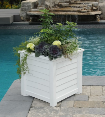 "Mayne - Lakeland 20"" x 20"" Planter - Black"