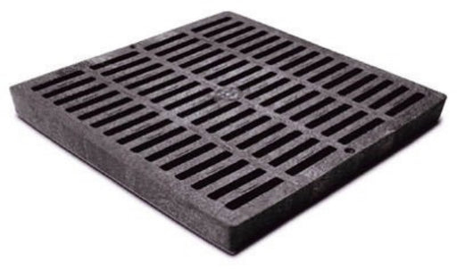 NDS - 12 x 12 inch Black Square Grates -  - Lawn and Garden  - Big Frog Supply