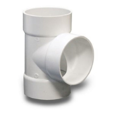 NDS - 3 Inch Solvent Weld Tee PVC Fitting -  - Lawn and Garden  - Big Frog Supply